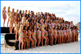Concurso Miss Cancun